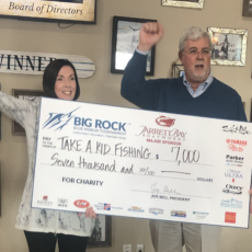 Big Rock Sports Blue Marlin Tournament Donates $7k To TAKF